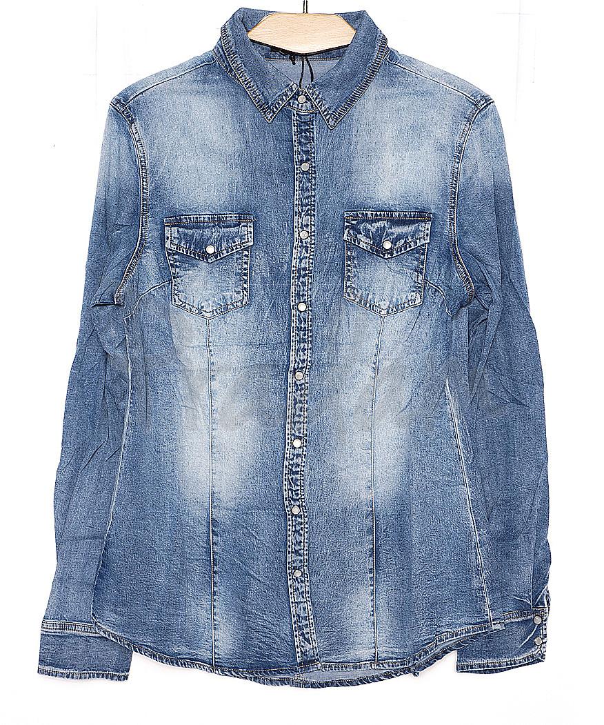 0149 (W149) Saint Wish рубашка джинсовая женская весенняя стрейчевая  (S-XL, 4 ед.)