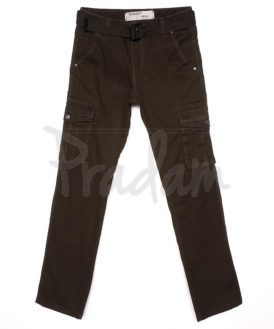 1672-4 Iteno брюки мужские карго хаки весенние стрейч-котон (30-38, 6/12 ед.)