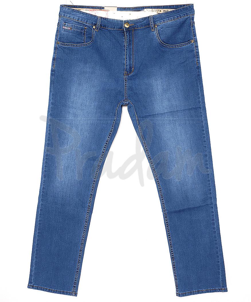 120142-D LS джинсы мужские классические батальные весенние стрейчевые (34-42, 8 ед.)