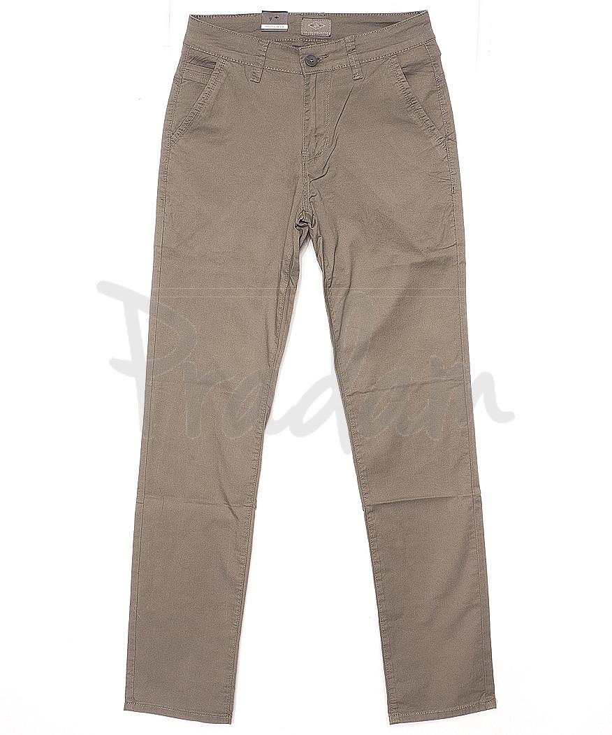 140068 LS брюки мужские бежевые весенние стрейчевые (29-38, 8 ед.)