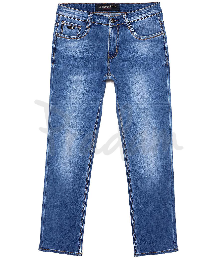 8111 Li Feng джинсы мужские батальные весенние стрейчевые (32-38, 8 ед.)