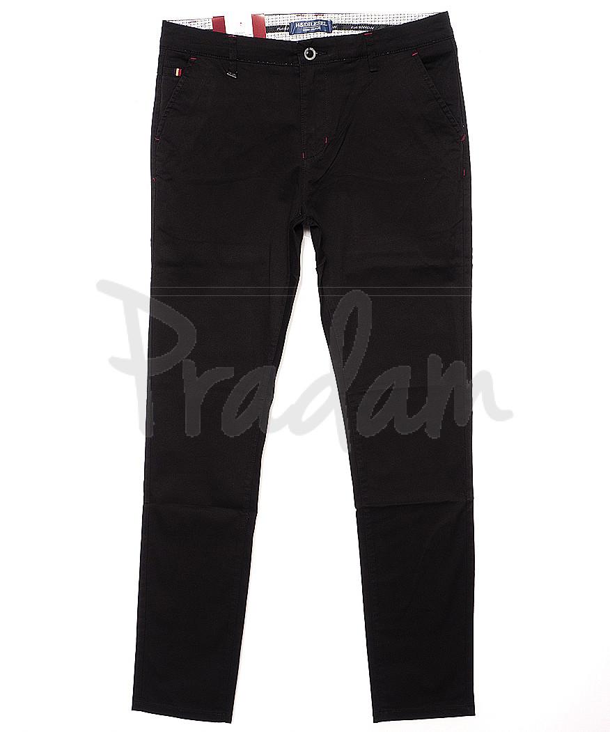 0005-3D (HD05-3D) H&Dilesel брюки мужские зауженные весенние стрейчевые (30-38, 10 ед.)
