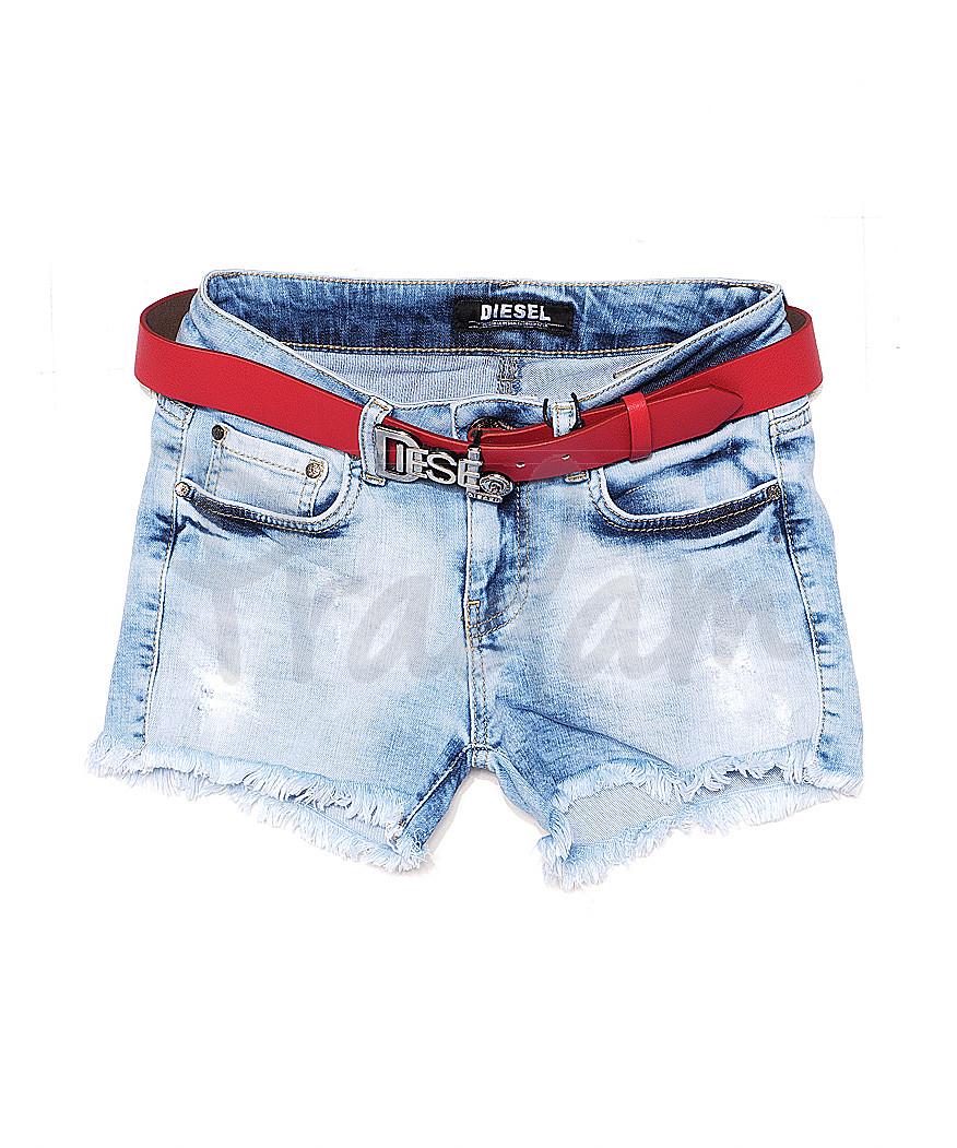 0769 Diesel шорты джинсовые женские стрейчевые (26-30, 5 ед.)