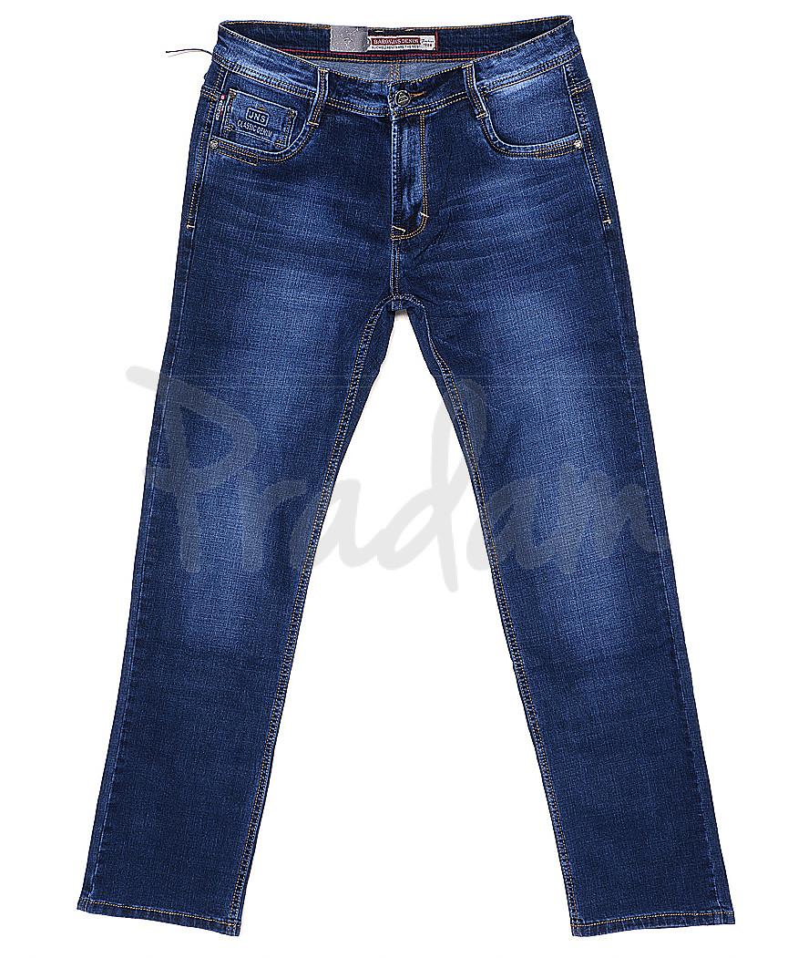 9029 Baron джинсы мужские батальные классические весенние стрейчевые (34-38, 8 ед.)