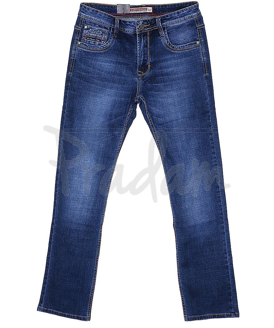 9028 Baron джинсы мужские батальные классические весенние стрейчевые (32-38, 8 ед.)