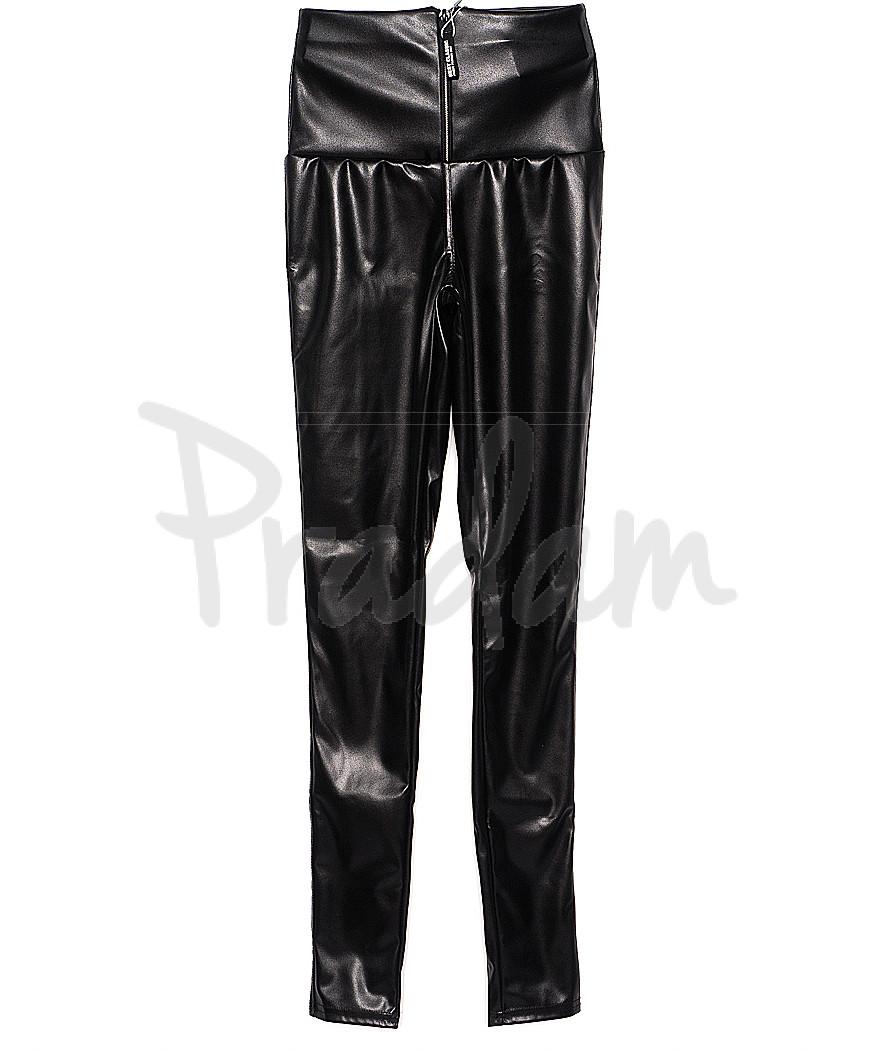 0197 X лосины кожаные с замочком весенние стрейчевые (42-46, 3 ед.)