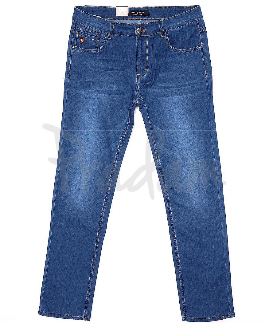 120158 LS джинсы мужские батальные классические весенние стрейчевые (32-38, 8 ед.)