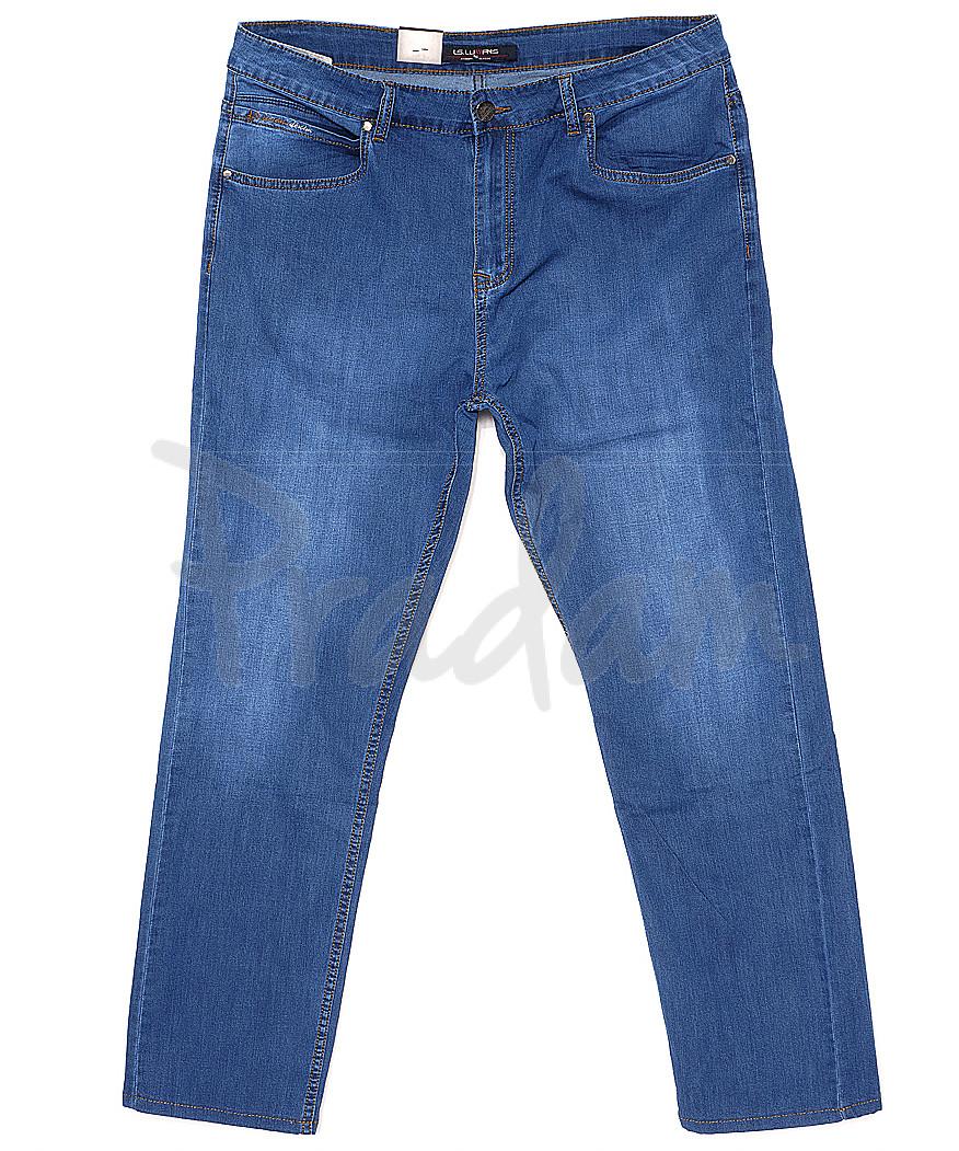 120161-D LS джинсы мужские батальные классические весенние стрейчевые (34-42, 8 ед.)
