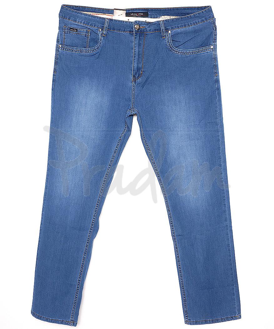 120164-D LS джинсы мужские батальные классические весенние стрейчевые (34-44, 8 ед.)