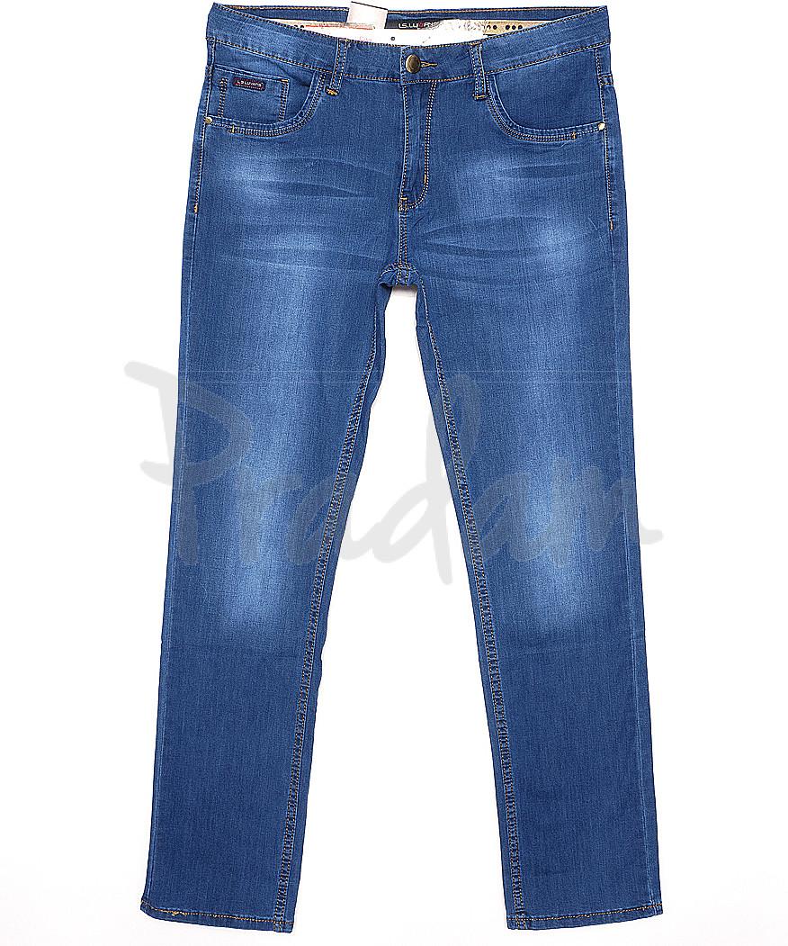120157 LS джинсы мужские батальные классические весенние стрейчевые (32-38, 8 ед.)