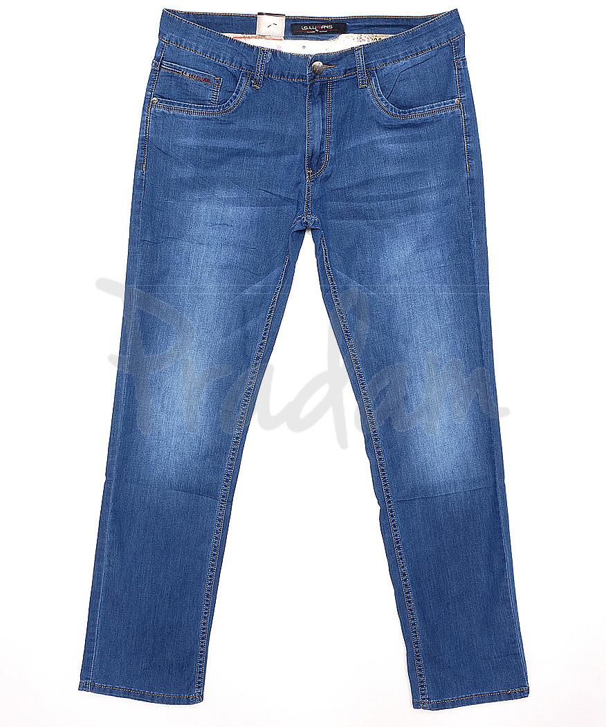 120159 LS джинсы мужские батальные классические весенние стрейчевые (32-38, 8 ед.)
