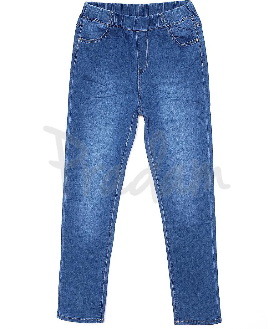 3139 Sunbird джинсы женские батальные на резинке весенние стрейчевые (31-42, 6 ед.)