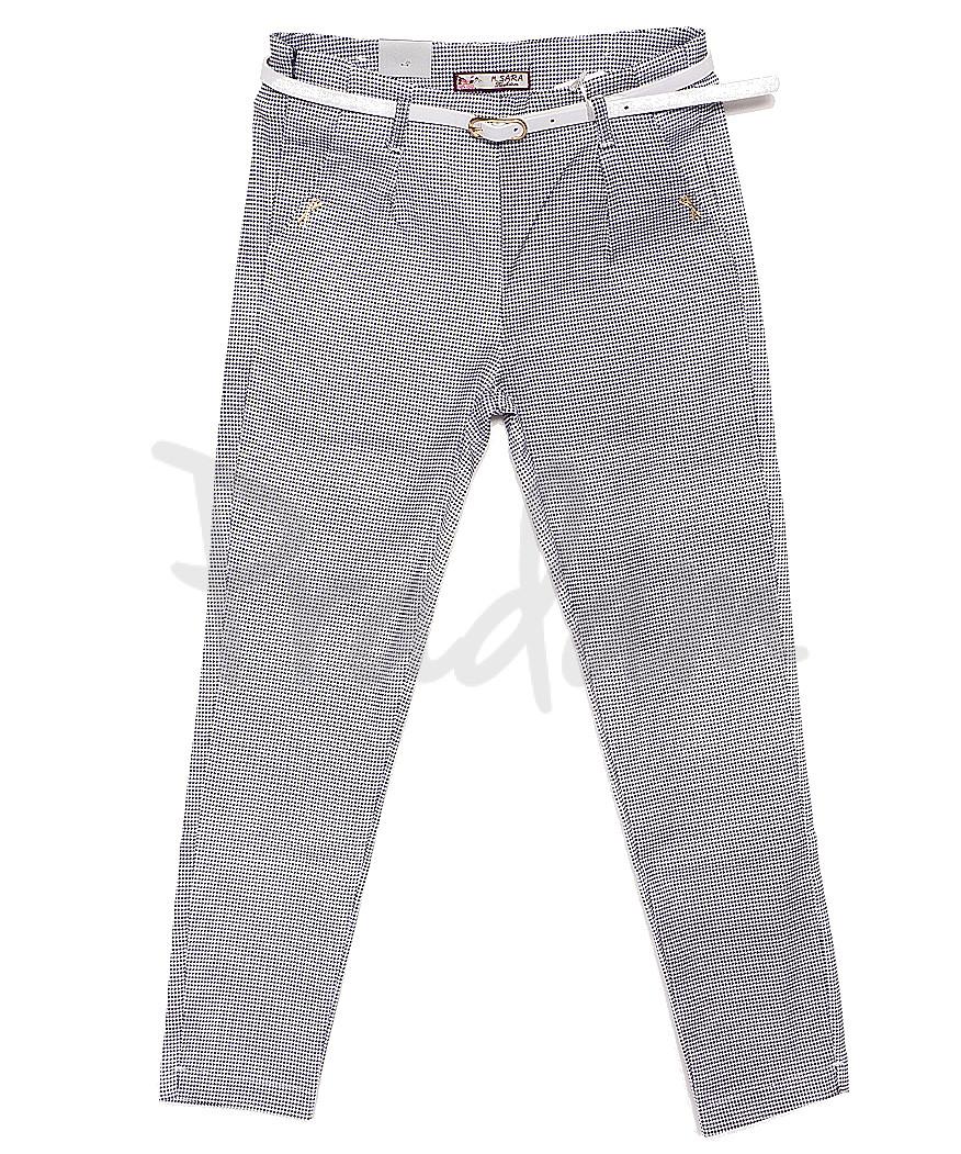 9023-4 M.Sara брюки женские в клетку весенние стрейчевые (26-31, 6 ед.)