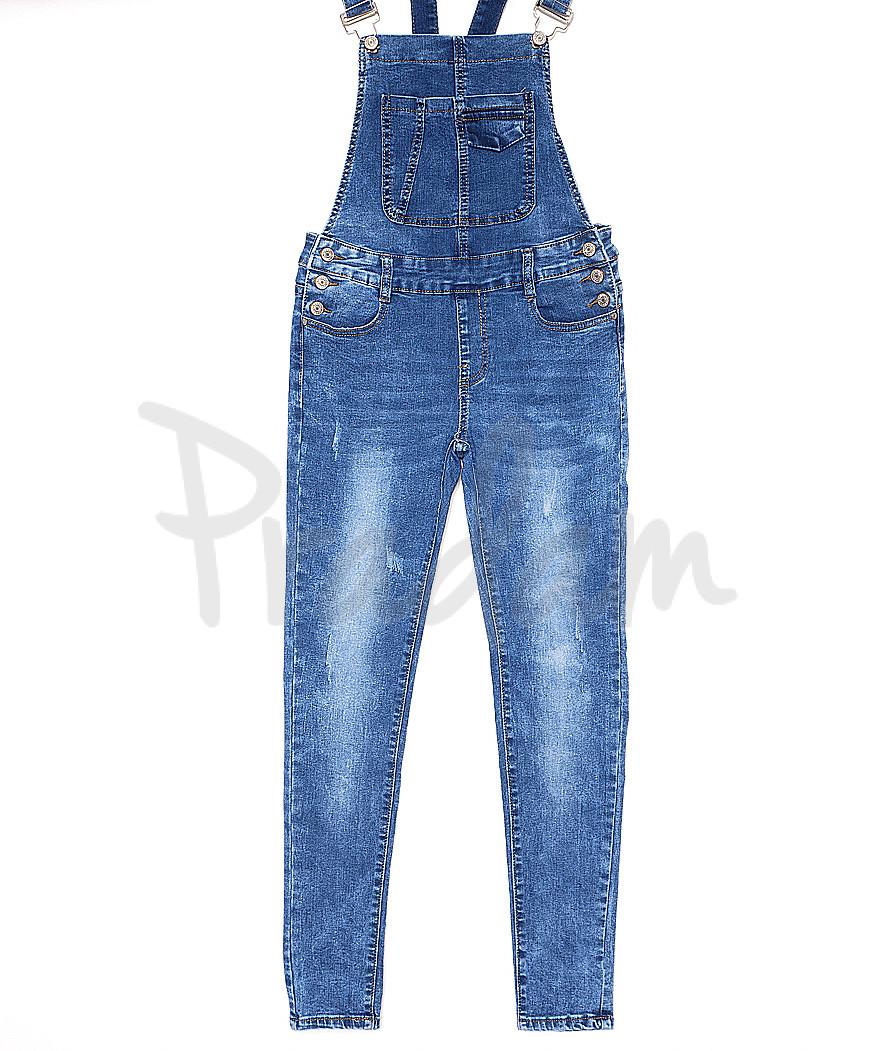 7118 X комбинезон джинсовый женский весенний стрейчевый (26-31, 6 ед.)