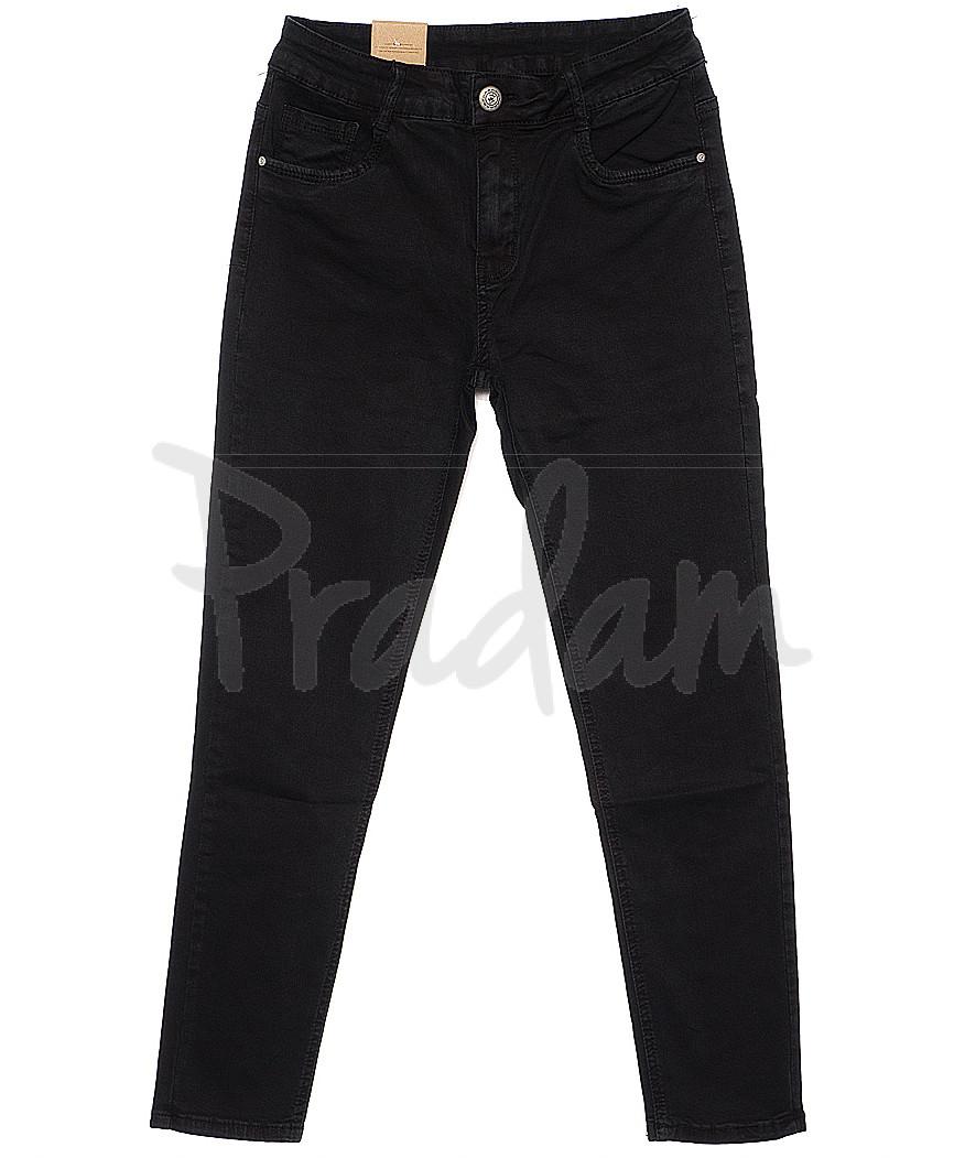 0621 Moon girl джинсы женские батальные зауженные весенние стрейчевые (30-36, 6 ед.)