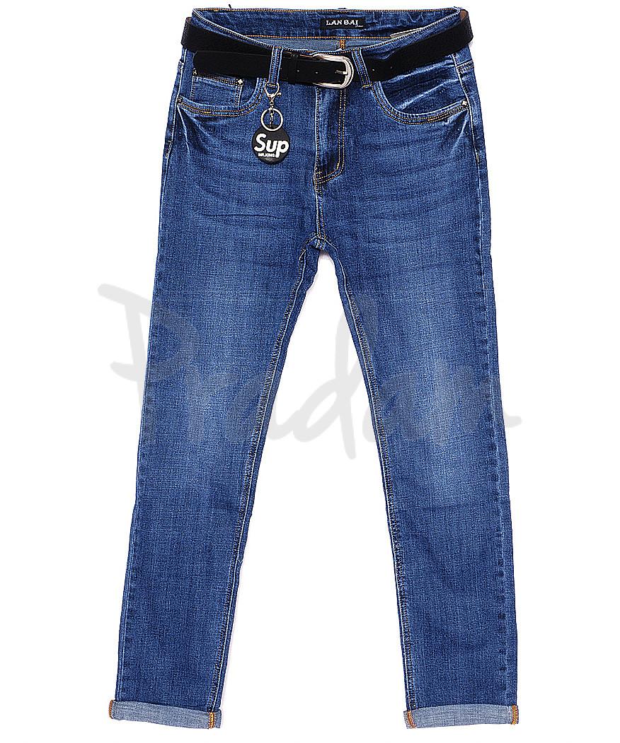 0009 (Z-09) Lan Bai джинсы батальные весенние стрейчевые (30-36, 6 ед.)