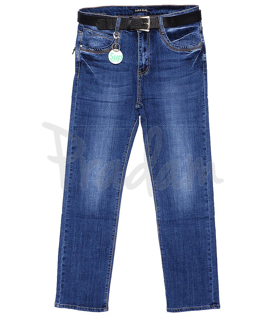 0008 (Z-08) Lan Bai джинсы батальные весенние стрейчевые (32-42, 6 ед.)