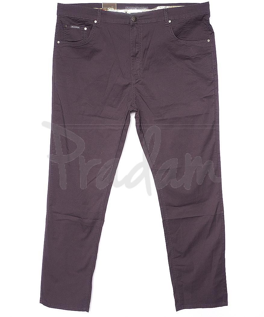 9019-D LS брюки мужские батальные серые весенние стрейчевые (34-44, 8 ед.)