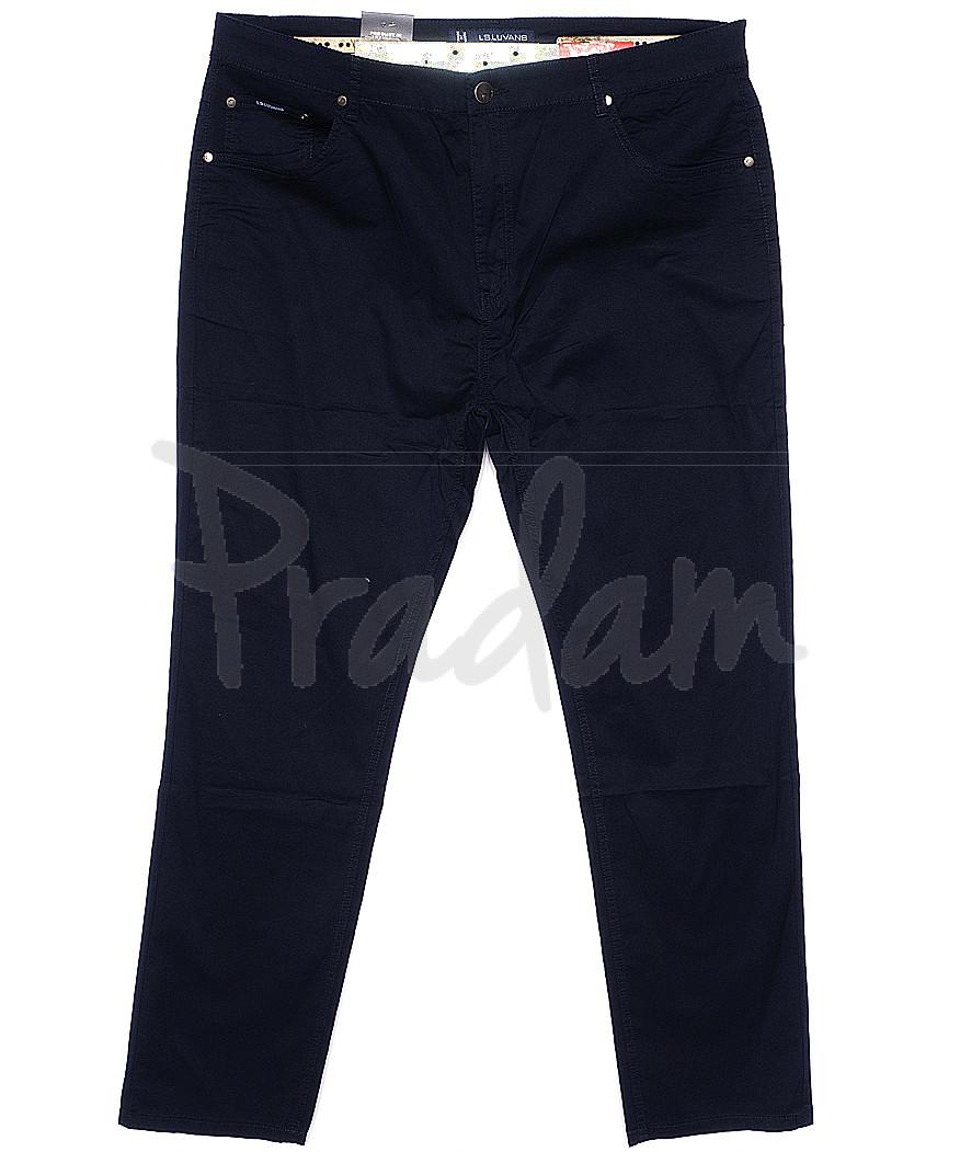 9006-D LS брюки мужские батальные темно-синие весенние стрейчевые (34-44, 8 ед.)