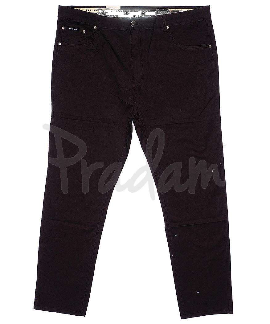 9010-D LS брюки мужские батальные коричневые весенние стрейчевые (34-44, 8 ед.)