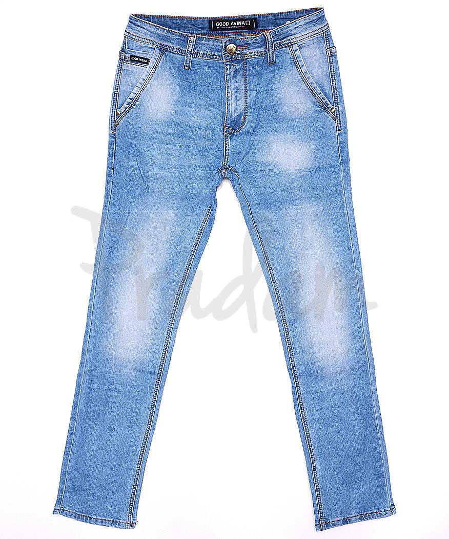 8232 Good Avina джинсы мужские с косым карманом весенние стрейчевые (30-38, 8 ед.)