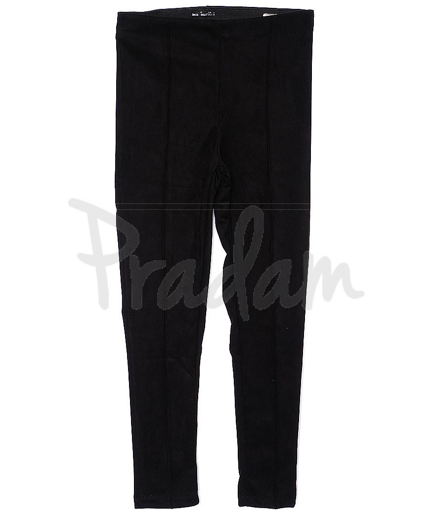 30033 черные Incebelli лосины замшевые весенние стрейчевые (S-XL, 4 ед.)