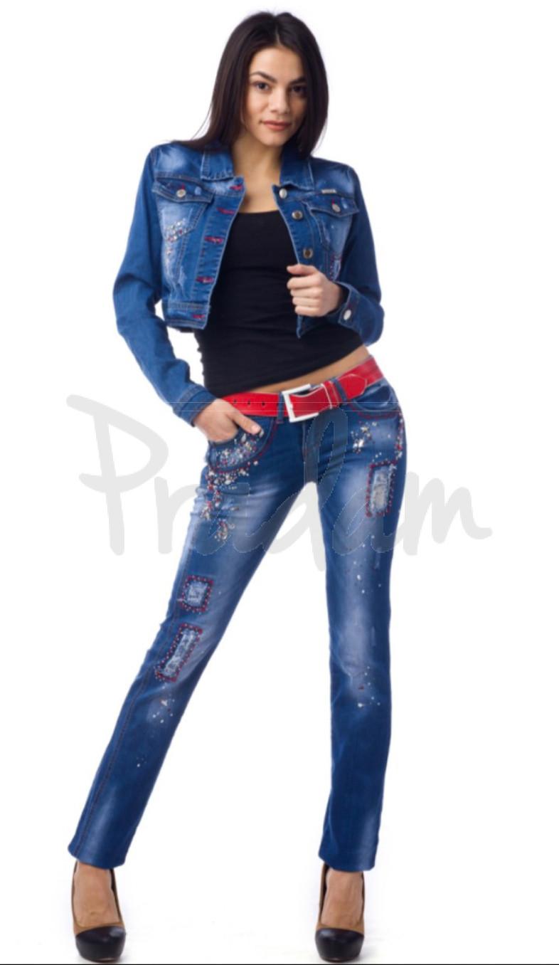 0197 LuLu (25-29, 6 ед.) джинсы женские весенние стрейчевые