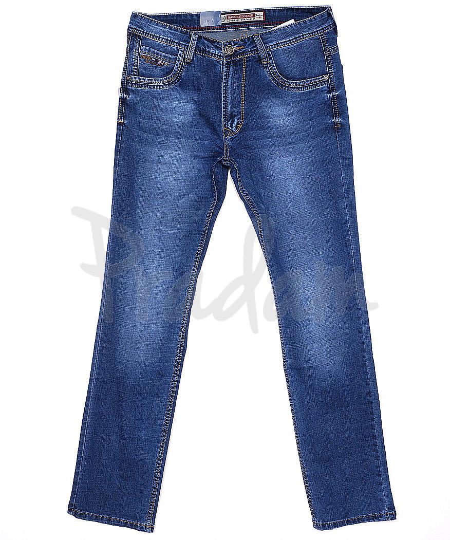 9065 Baron джинсы мужские батальные весенние стрейчевые (32-38, 8 ед.)