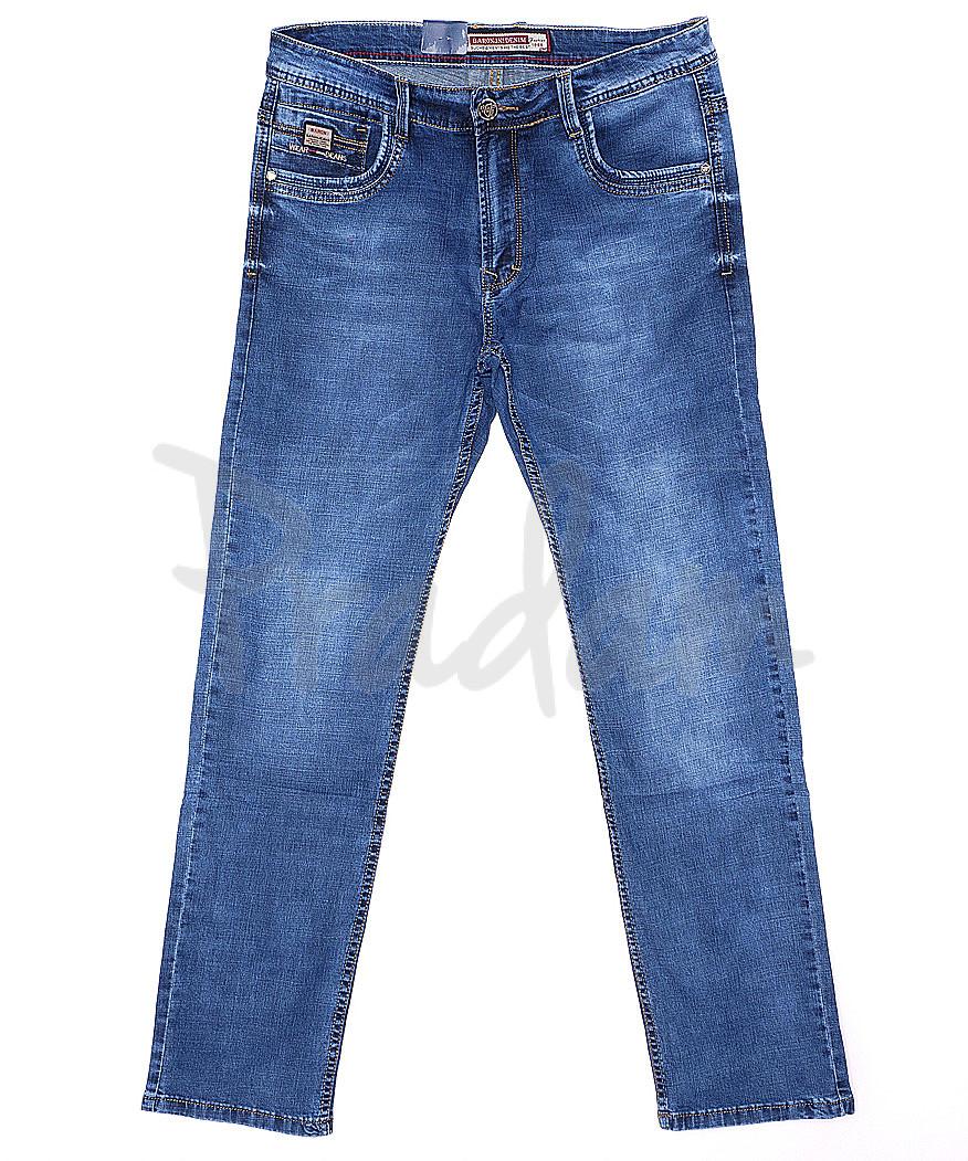 9072 Baron джинсы мужские батальные классические весенние стрейчевые (34-38, 8 ед.)
