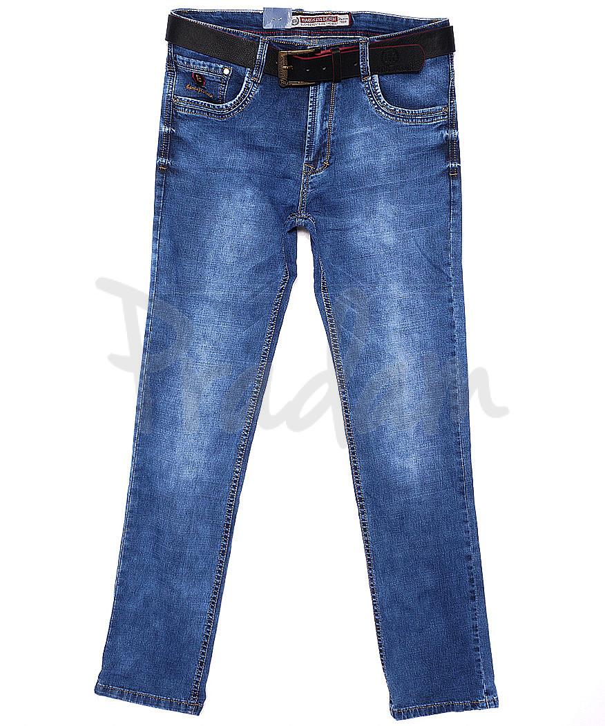 9073 Baron джинсы мужские батальные классические весенние стрейчевые (32-38, 8 ед.)