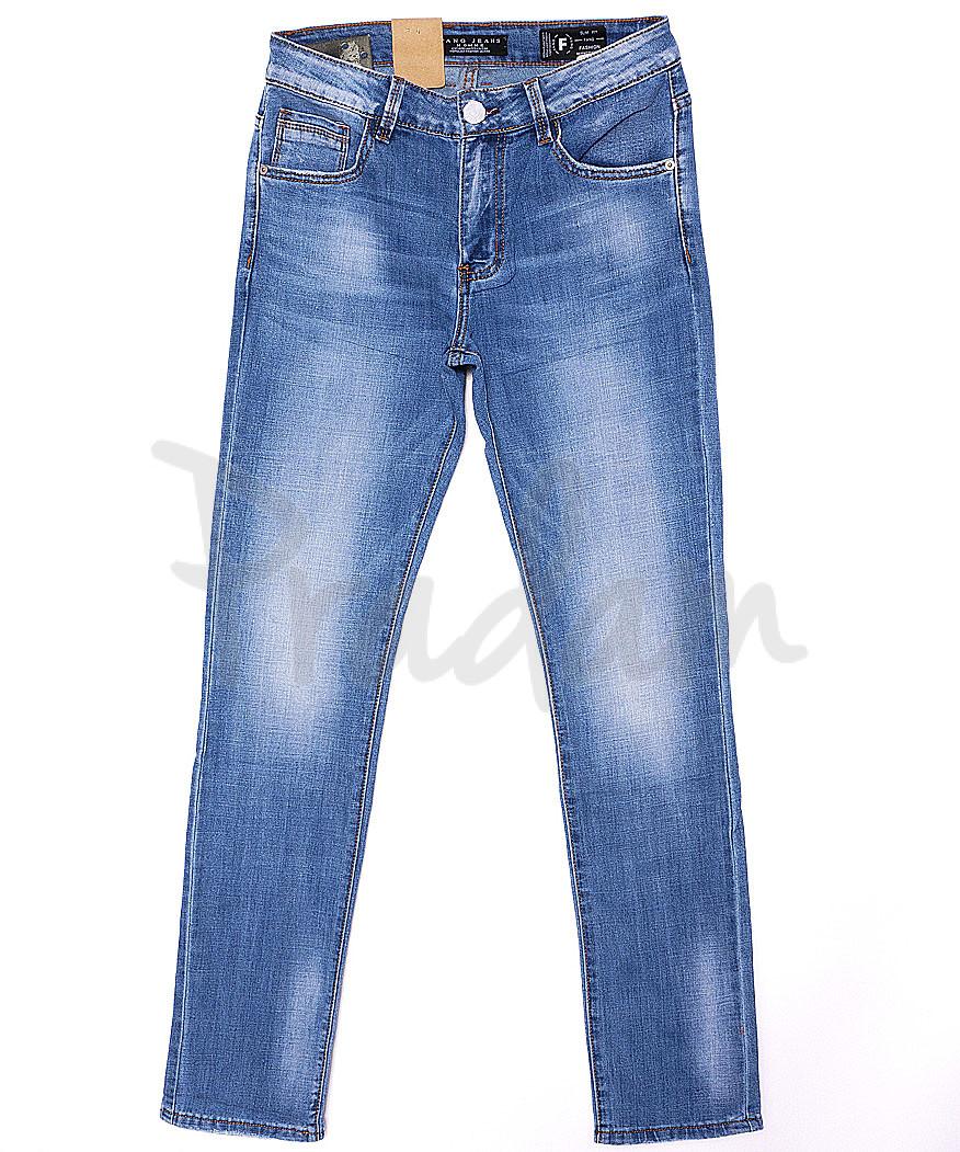 2080 Fang джинсы мужские молодежные с теркой весенние стрейч-котон (28-34, 8 ед.)