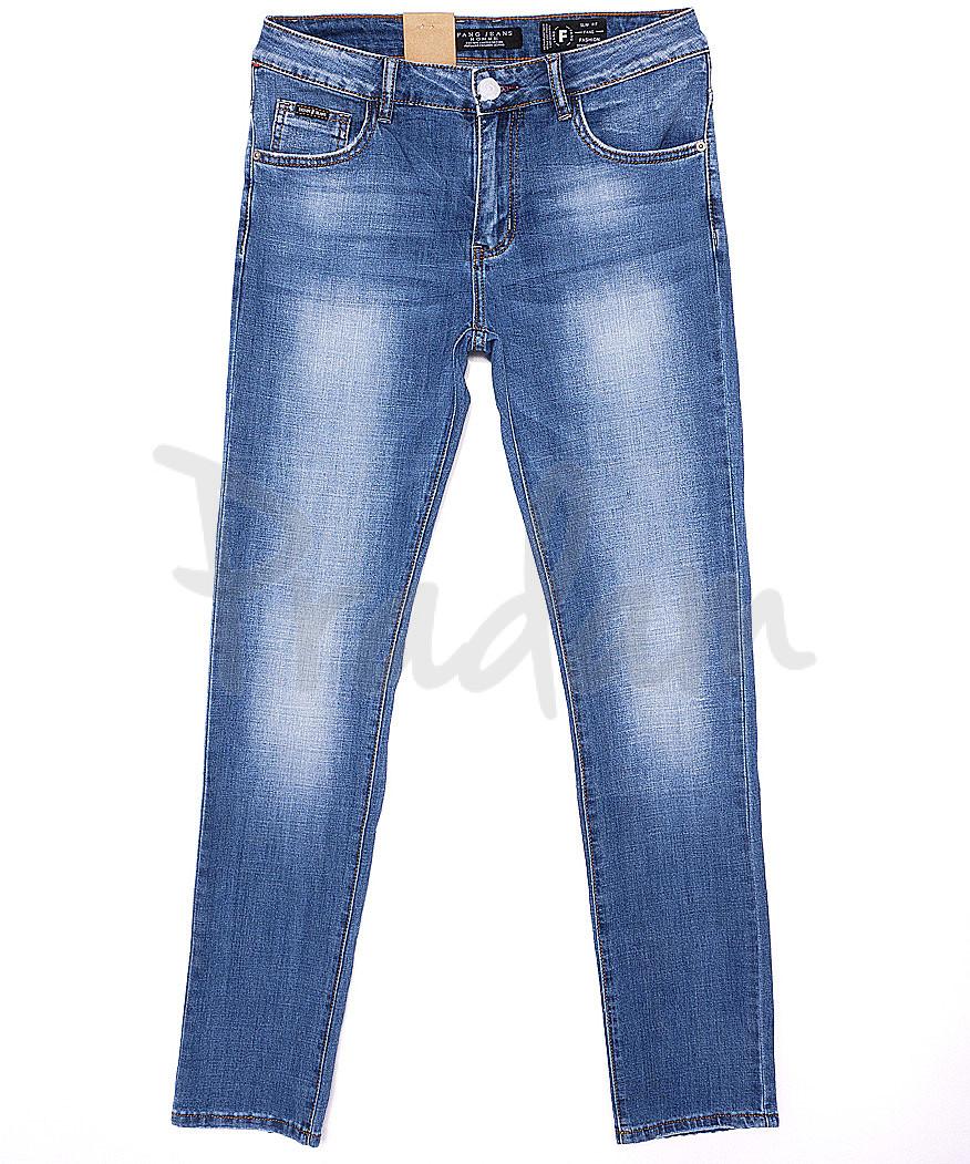 2087 Fang джинсы мужские с теркой весенние стрейч-котон (30-38, 8 ед.)