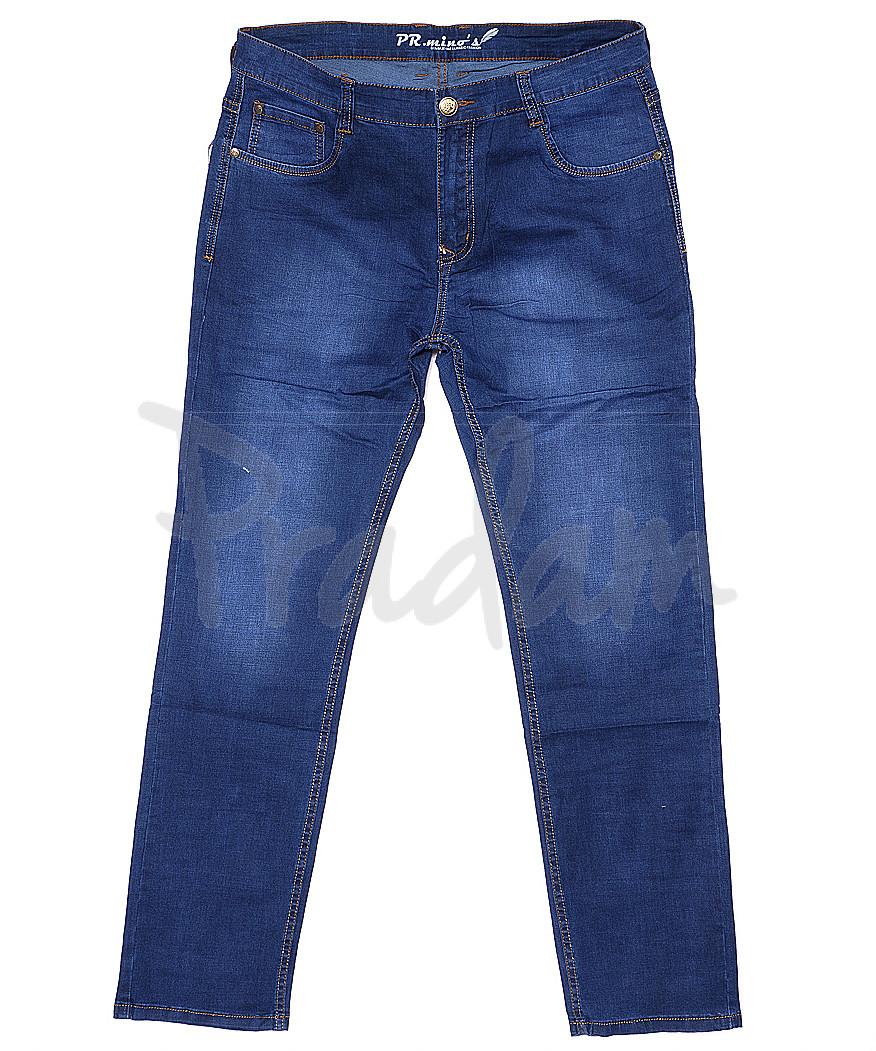 69022 Pr.Minos джинсы мужские батальные весенние стрейчевые (32-38, 8 ед.)