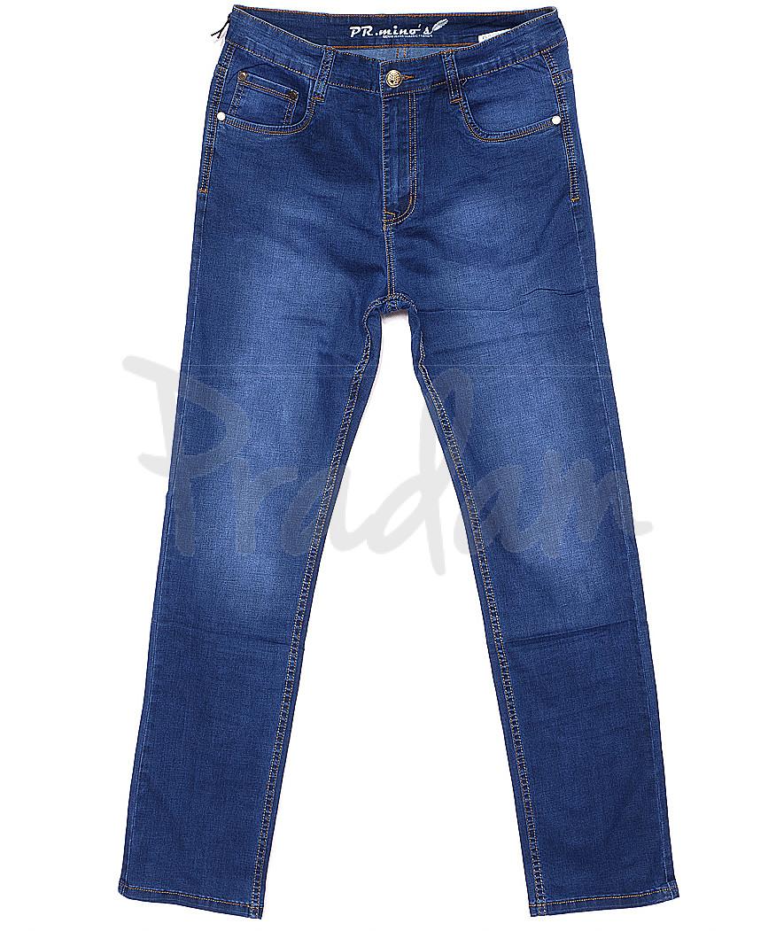69027 Pr.Minos джинсы мужские батальные весенние стрейчевые (32-42, 7 ед.)