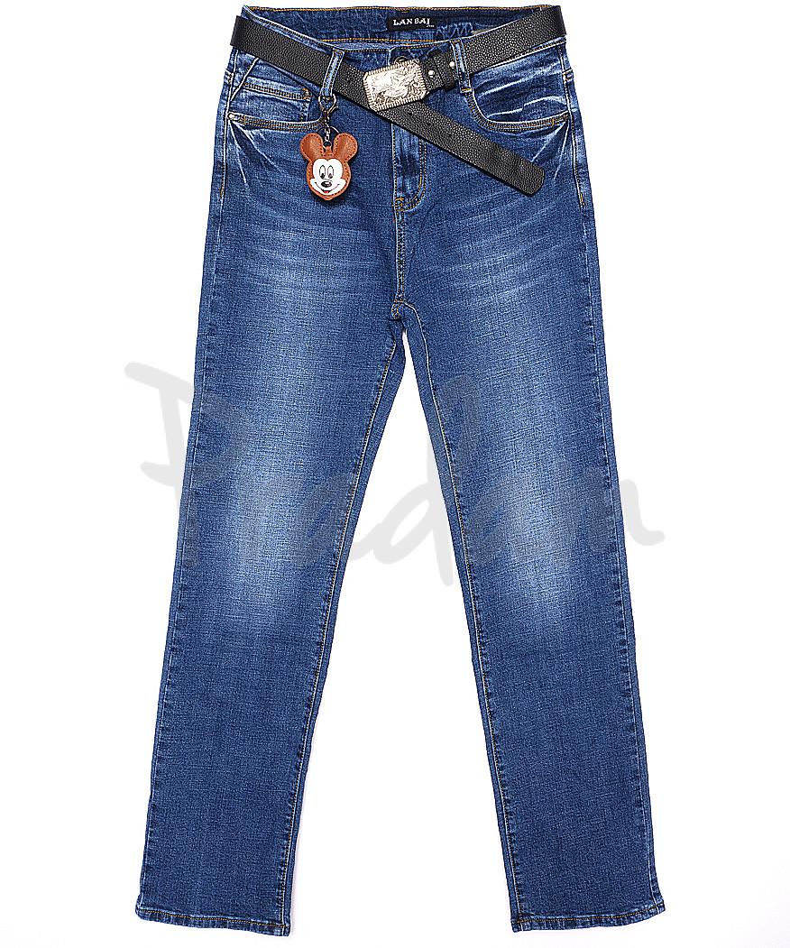 0016 (Z-16) Lan Bai джинсы женские батальные весенние стрейчевые (30-36, 6 ед.)