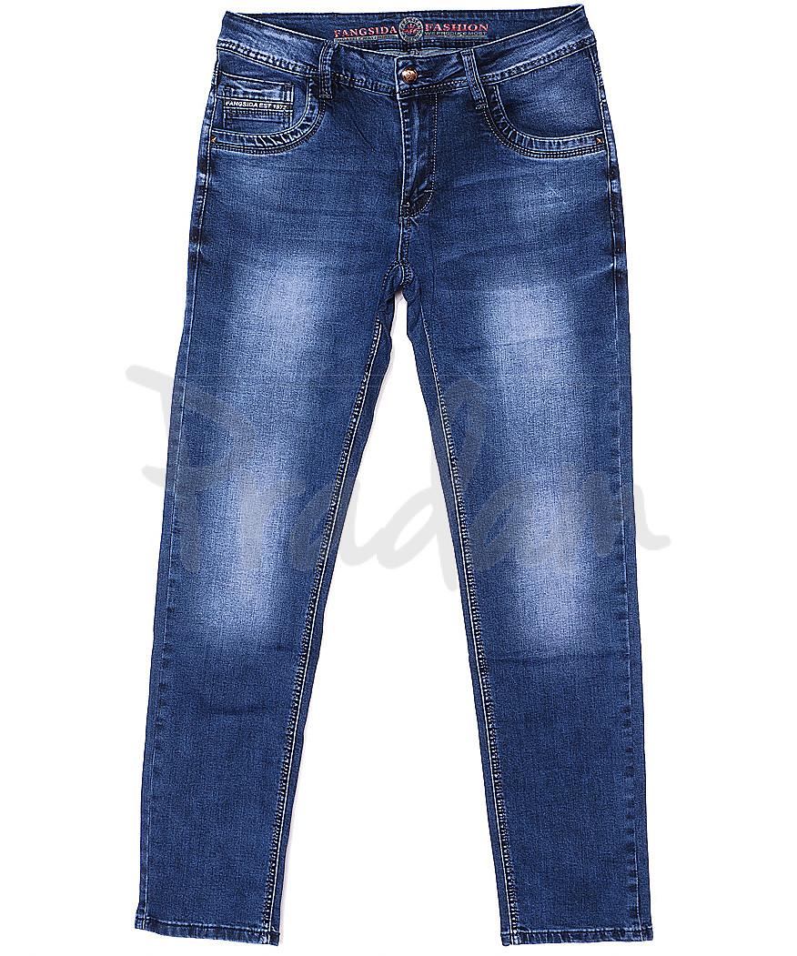 8069 Fangsida джинсы мужские батальные весенние стрейчевые (32-38, 8 ед.)