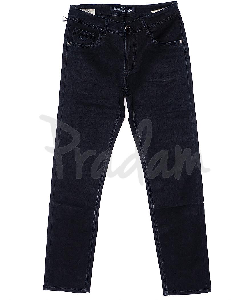 4022 Fangsida джинсы мужские батальные темно-синие весенние стрейчевые (32-38, 8 ед.)