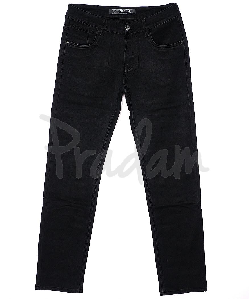 4031 Fangsida джинсы мужские батальные темно-серые весенние стрейчевые (32-38, 8 ед.)