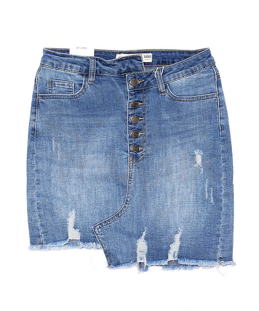 1071 M.Sara юбка джинсовая на пуговицах стрейчевая (25-30, 6 ед.)