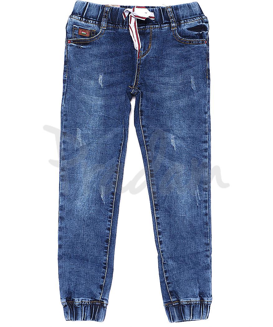 0101 Miss Happy джинсы на девочку на резинке весенние стрейчевые (23-28, 6 ед.)