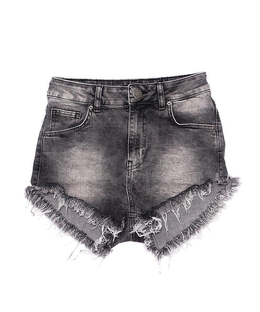 1179 RND Its Basic шорты джинсовые женские серые стрейчевые (34-40, евро, 5 ед.)