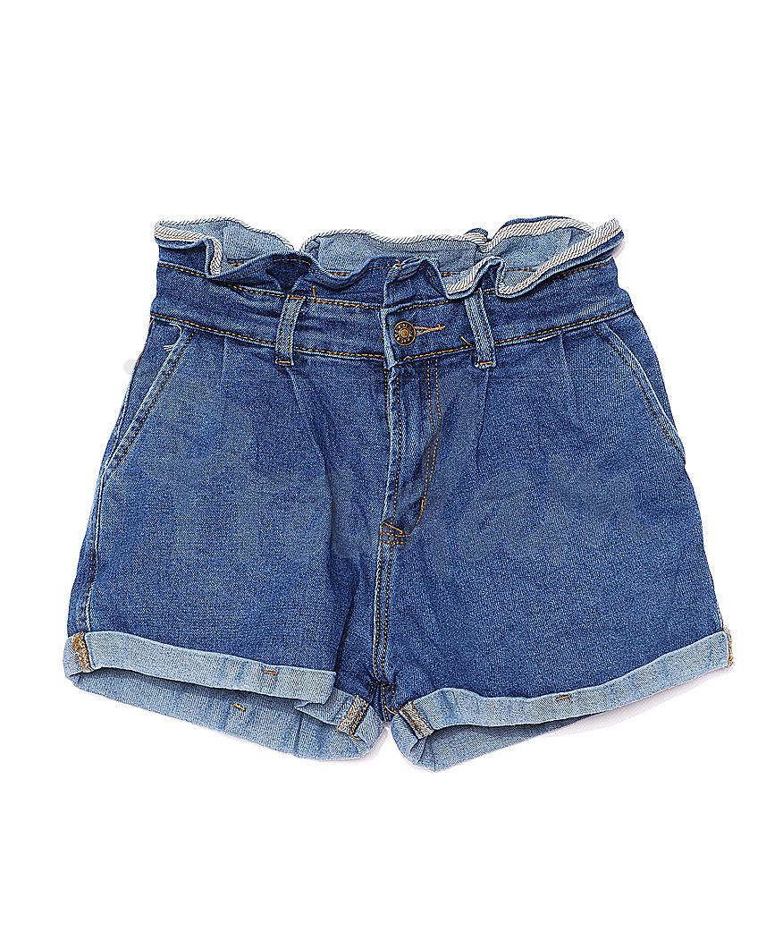 A 0074-10 Relucky шорты джинсовые женские стрейчевые (25-30, 6 ед.)
