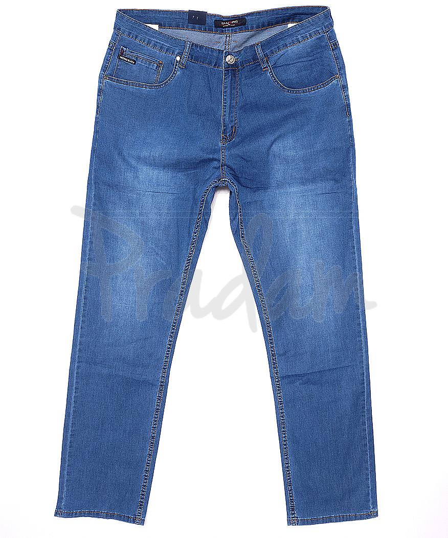 120172-D LS джинсы мужские батальные классические весенние стрейчевые (34-42, 8 ед.)