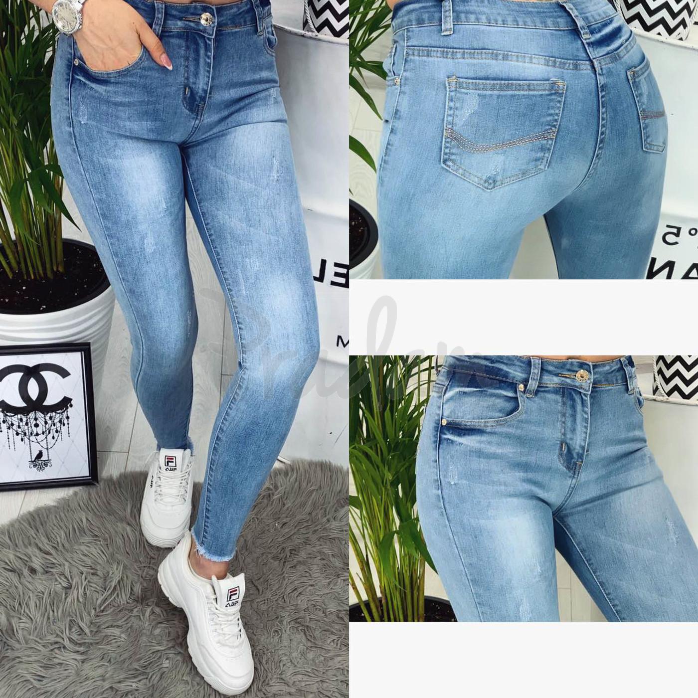 2353 New jeans американка весенняя стрейчевая (25-30, 6 ед.)