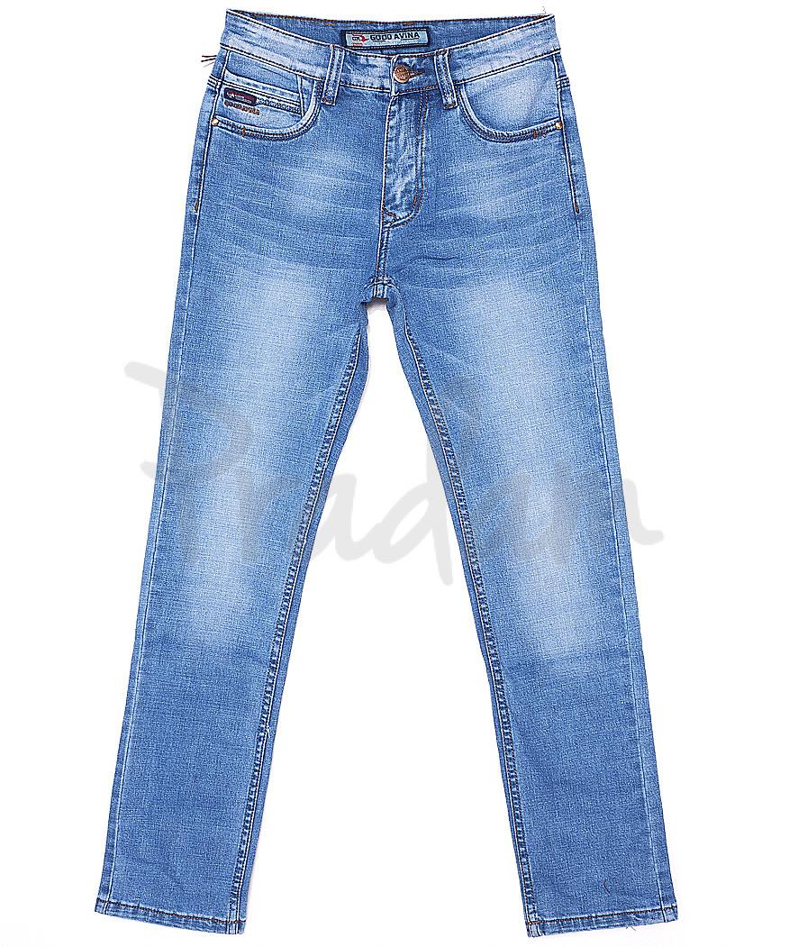 8208 Good Avina джинсы мужские с теркой весенние стрейчевые (30-38, 8 ед.)