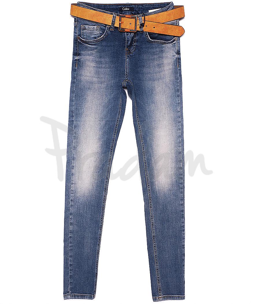 9429-630 Colibri джинсы женские зауженные с теркой весенние стрейчевые (25-30, 6 ед.)