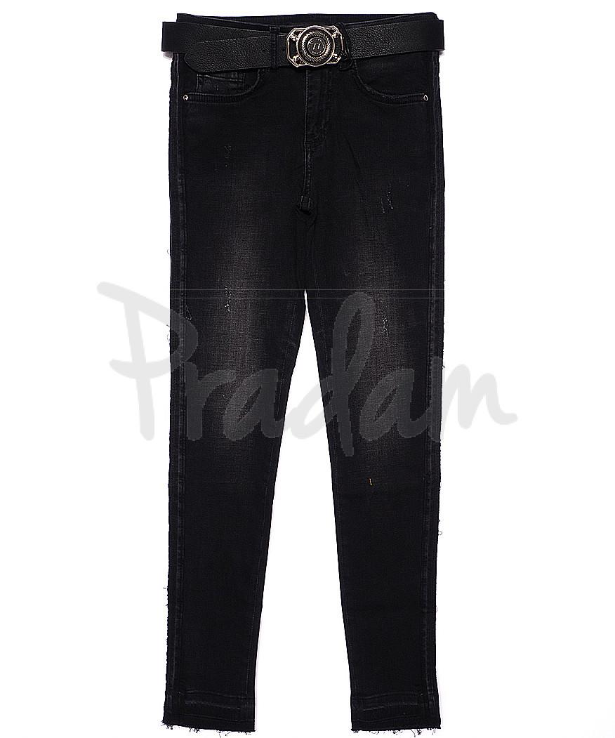 2020-637 Angelina Mara джинсы женские зауженные весенние стрейчевые (25-30, 6 ед.)