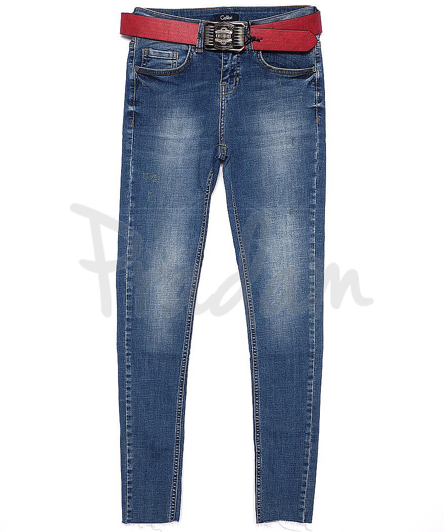 9442-625 Colibri джинсы женские зауженные весенние стрейчевые (25-30, 6 ед.)