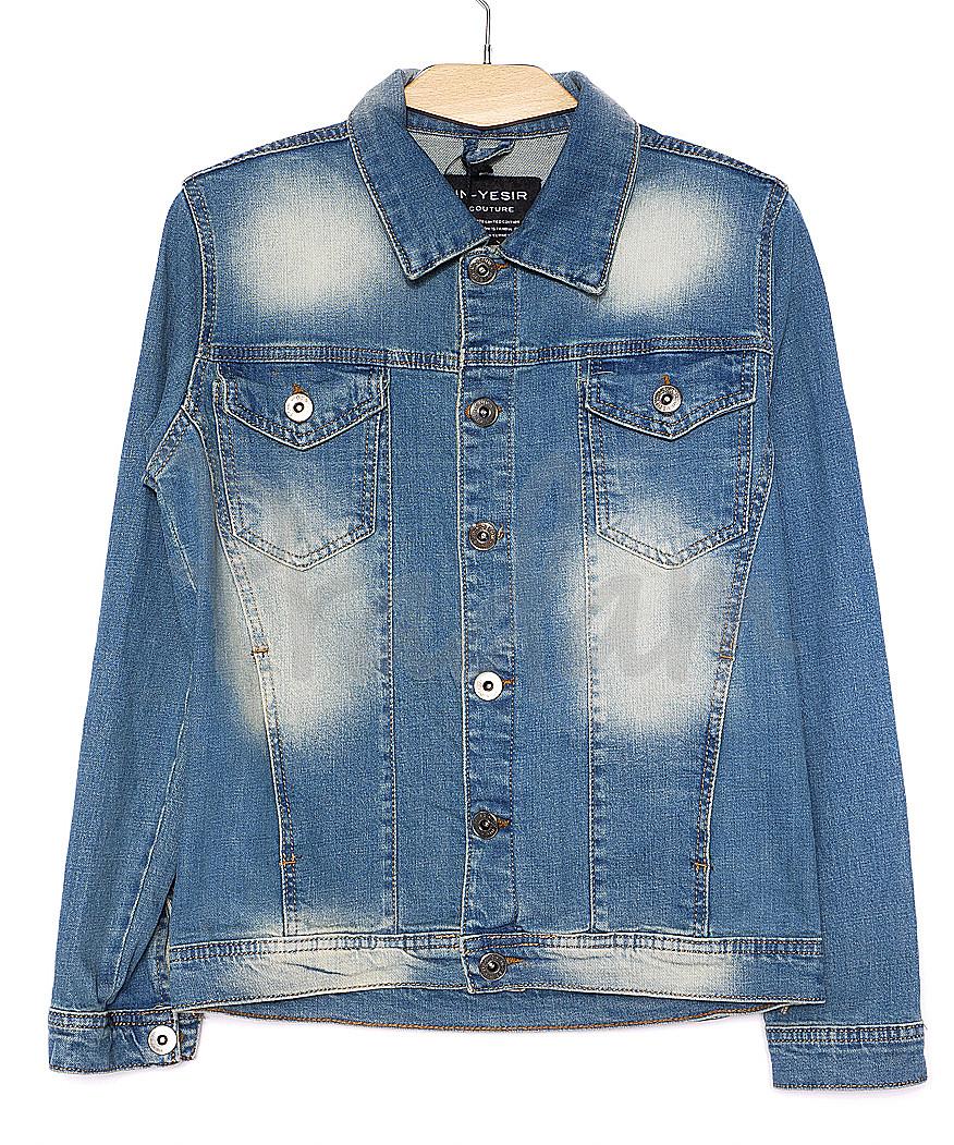 2009-1 In Yesir куртка джинсовая мужская весенняя стрейч-котон (S-XXL, 6 ед.)
