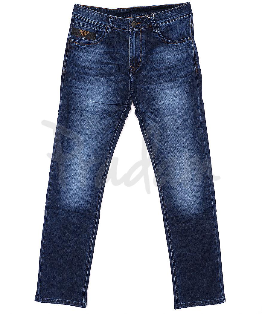 1452 Varxdar джинсы мужские батальные с теркой весенние стрейчевые (32-38, 8 ед.)